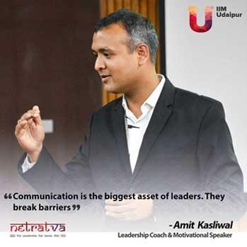 Netratva - Leadership Coach and Motivational Speaker