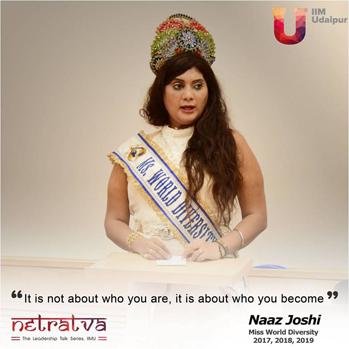Netratva - Naaz Joshi, Miss World Diversity