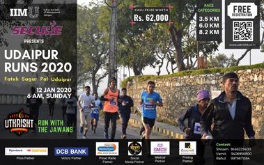 IIM Udaipur - Udaipur Runs v3.0 'Run with Jawans'