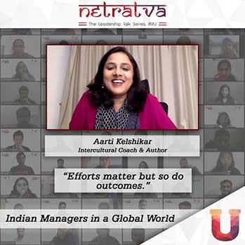 Netratva - Aarti Kelshikar, Intercultural Coach & Author